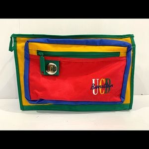 80's United Colours Of Benetton Travel Bag